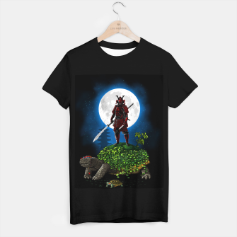 Thumbnail image of Samurai Turtle Camiseta Regular, Live Heroes