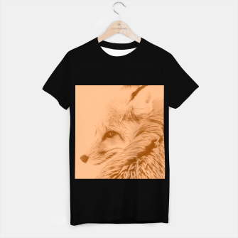 Thumbnail image of red fox digital acryl painting acrcb T-shirt regular, Live Heroes