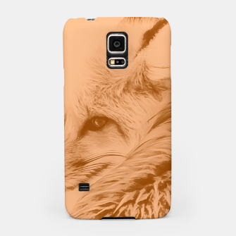 Thumbnail image of red fox digital acryl painting acrcb Samsung Case, Live Heroes