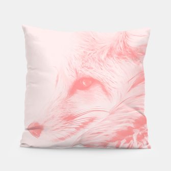 Thumbnail image of red fox digital acryl painting acrpw Pillow, Live Heroes