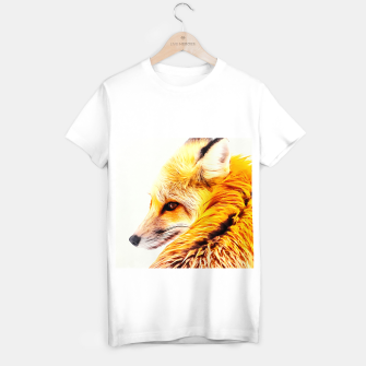 Thumbnail image of red fox digital acryl painting acrstd T-shirt regular, Live Heroes