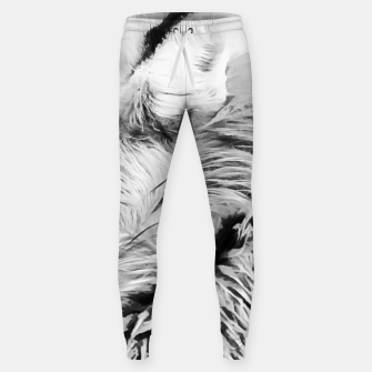 Thumbnail image of red fox digital acryl painting acrbw Sweatpants, Live Heroes