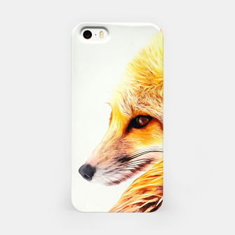 Thumbnail image of red fox digital acryl painting acrstd iPhone Case, Live Heroes