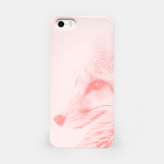Thumbnail image of red fox digital acryl painting acrpw iPhone Case, Live Heroes
