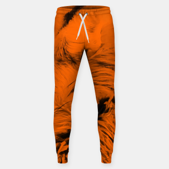 Thumbnail image of red fox digital acryl painting acrob Sweatpants, Live Heroes