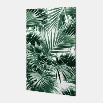 Miniatur Tropical Palm Leaf Jungle #1 #tropical #decor #art  Canvas, Live Heroes