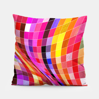 Miniatur Twisted Waves Pillow, Live Heroes
