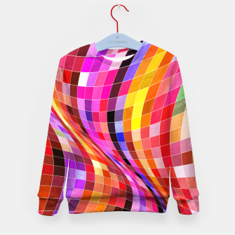 Thumbnail image of Twisted Waves Kid's sweater, Live Heroes