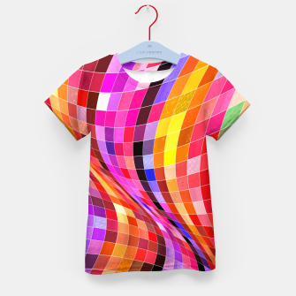 Thumbnail image of Twisted Waves Kid's t-shirt, Live Heroes