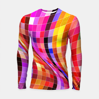 Thumbnail image of Twisted Waves Longsleeve rashguard , Live Heroes