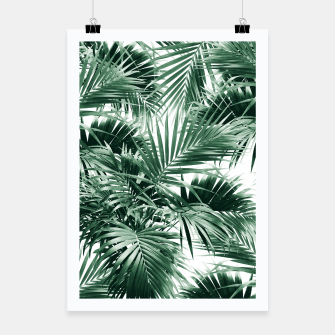 Thumbnail image of Tropical Palm Leaf Jungle #1 #tropical #decor #art  Plakat, Live Heroes
