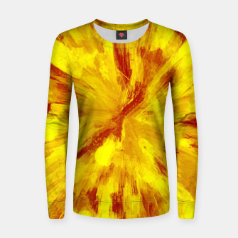 Thumbnail image of color explosion gogh pattern goyr Women sweater, Live Heroes
