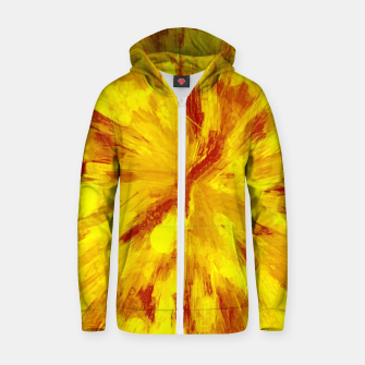 Thumbnail image of color explosion gogh pattern goyr Zip up hoodie, Live Heroes