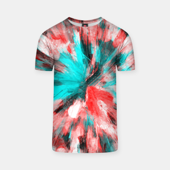 Thumbnail image of color explosion gogh pattern go2s T-shirt, Live Heroes
