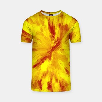 Thumbnail image of color explosion gogh pattern goyr T-shirt, Live Heroes