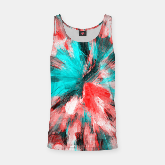 Thumbnail image of color explosion gogh pattern go2s Tank Top, Live Heroes