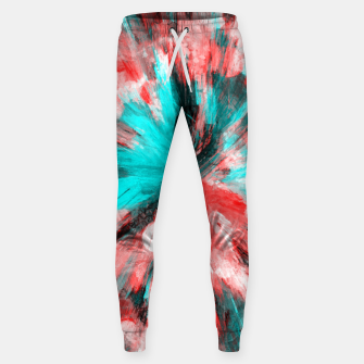Thumbnail image of color explosion gogh pattern go2s Sweatpants, Live Heroes