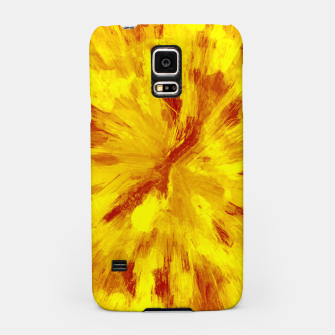 Thumbnail image of color explosion gogh pattern goyr Samsung Case, Live Heroes