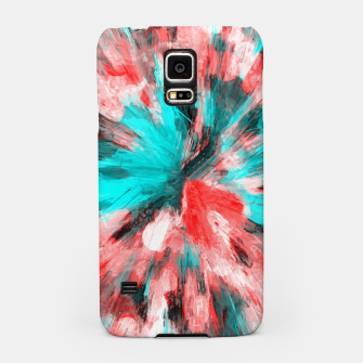 Thumbnail image of color explosion gogh pattern go2s Samsung Case, Live Heroes