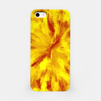 Thumbnail image of color explosion gogh pattern goyr iPhone Case, Live Heroes
