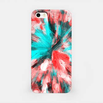 Thumbnail image of color explosion gogh pattern go2s iPhone Case, Live Heroes
