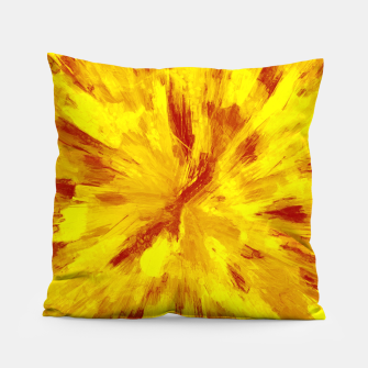 Thumbnail image of color explosion gogh pattern goyr Pillow, Live Heroes