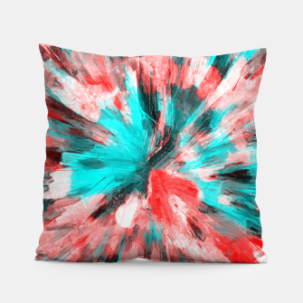 Thumbnail image of color explosion gogh pattern go2s Pillow, Live Heroes
