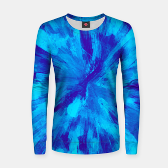 Thumbnail image of color explosion gogh pattern gobt Women sweater, Live Heroes
