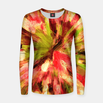 Thumbnail image of color explosion gogh pattern gow85 Women sweater, Live Heroes