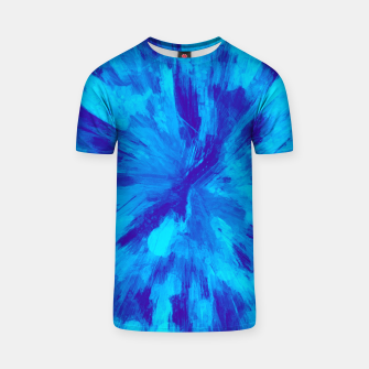 Thumbnail image of color explosion gogh pattern gobt T-shirt, Live Heroes