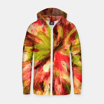 Thumbnail image of color explosion gogh pattern gow85 Zip up hoodie, Live Heroes