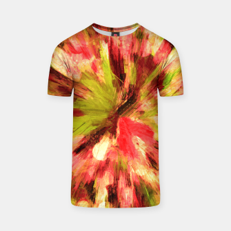 Thumbnail image of color explosion gogh pattern gow85 T-shirt, Live Heroes