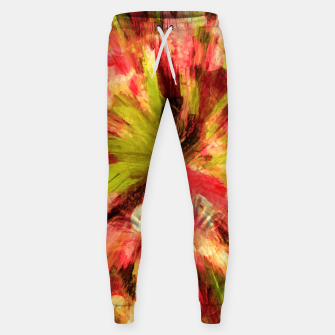 Thumbnail image of color explosion gogh pattern gow85 Sweatpants, Live Heroes