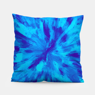 Thumbnail image of color explosion gogh pattern gobt Pillow, Live Heroes