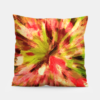 Thumbnail image of color explosion gogh pattern gow85 Pillow, Live Heroes