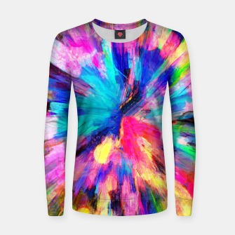 Thumbnail image of color explosion gogh pattern gostd Women sweater, Live Heroes
