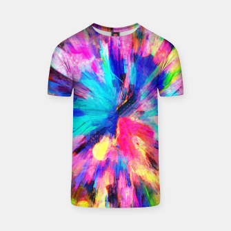 Thumbnail image of color explosion gogh pattern gostd T-shirt, Live Heroes