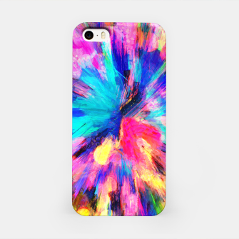 Thumbnail image of color explosion gogh pattern gostd iPhone Case, Live Heroes