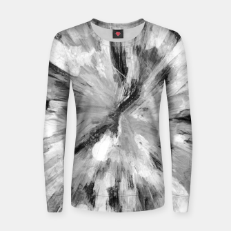 Thumbnail image of color explosion gogh pattern gobw Women sweater, Live Heroes