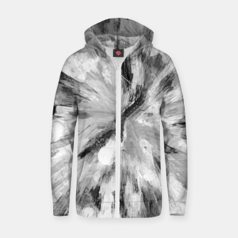 Thumbnail image of color explosion gogh pattern gobw Zip up hoodie, Live Heroes