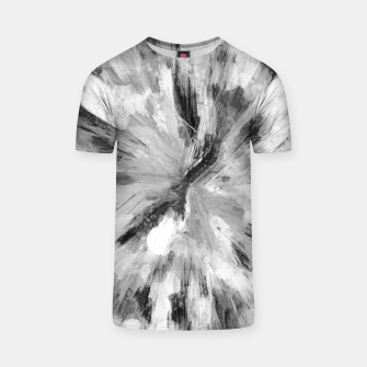 Thumbnail image of color explosion gogh pattern gobw T-shirt, Live Heroes