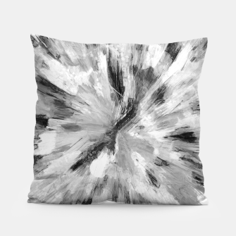 Thumbnail image of color explosion gogh pattern gobw Pillow, Live Heroes