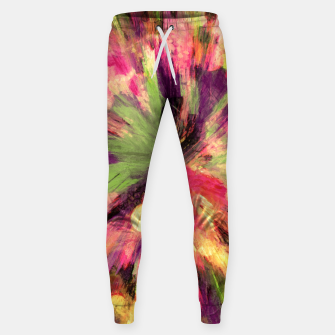 Thumbnail image of color explosion gogh pattern gosepia Sweatpants, Live Heroes