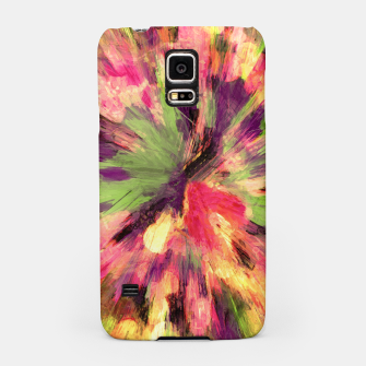 Thumbnail image of color explosion gogh pattern gosepia Samsung Case, Live Heroes