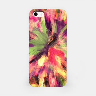 Thumbnail image of color explosion gogh pattern gosepia iPhone Case, Live Heroes