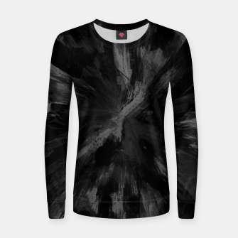 Thumbnail image of color explosion gogh pattern gobwmb Women sweater, Live Heroes