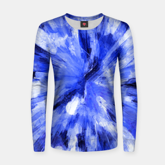 Thumbnail image of color explosion gogh pattern godb Women sweater, Live Heroes