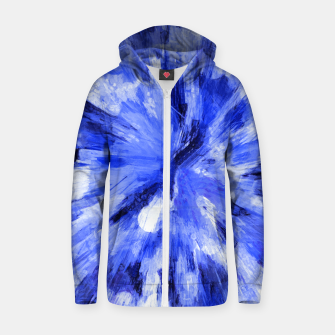 Thumbnail image of color explosion gogh pattern godb Zip up hoodie, Live Heroes