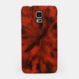 Thumbnail image of color explosion gogh pattern gorb Samsung Case, Live Heroes