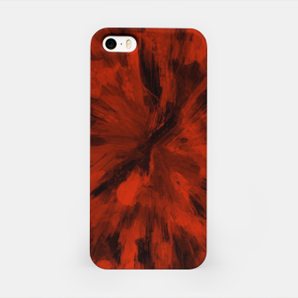 Thumbnail image of color explosion gogh pattern gorb iPhone Case, Live Heroes